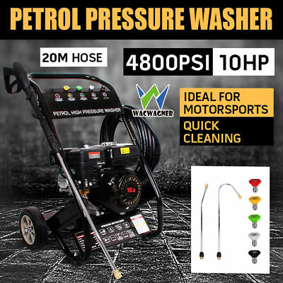 WACWAGNER 10HP 4800PSI High Pressure Water Washer Cleaner Gurney 20M Jet Machine