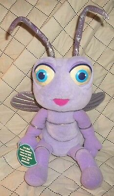 With tag Disney Pixar A BUG'S LIFE TALKING PRINCESS DOT Plush ANT DOLL (1998) &