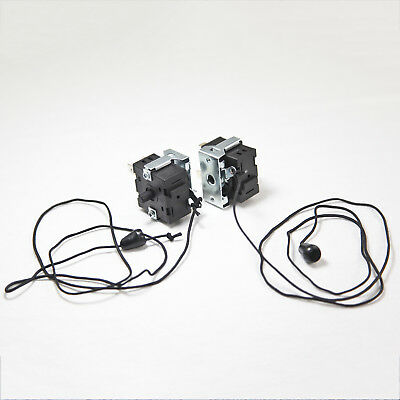 2 x ON-OFF Pull Chain Cord String Rotary Switch 16A 250V AC