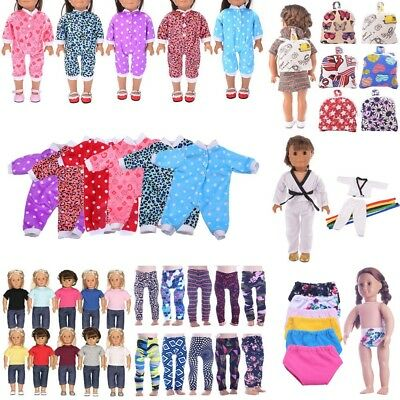 Doll Summer Underwear Pants Shoes Dress Accessories for 18inch Doll Toy Clothes