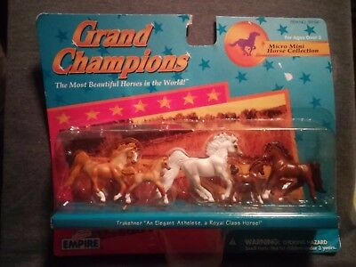 Grand Champions micro mini horse collection new item 59106