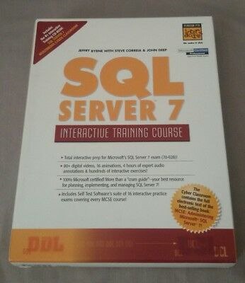SQL Server 7 Interactive Training Course by BYRNE 1999