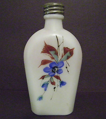 C.F. Monroe Wave Crest  unsigned Lady's flask Rare
