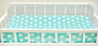 My Baby Sam Pixie Baby In Aqua Changing Pad Cover