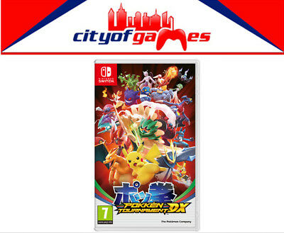 Pokken Tournament DX Switch Game New & Sealed Free Express Post In Stock Now