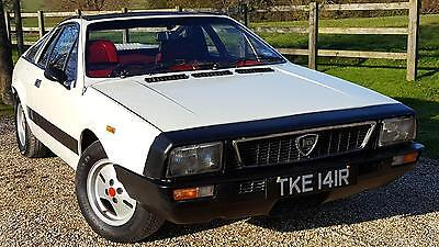 1977 Lancia Montecarlo Montecarlo  Spyder  Very  Rare  Factory  White  With Red