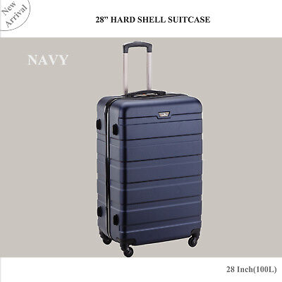 28 inch (100L) Large Luggage Trolley Travel Bag 4 Wheel suitcase