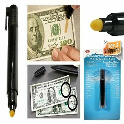 Fake Money Tester International Counterfeit Currency Detector Pen Quick Result