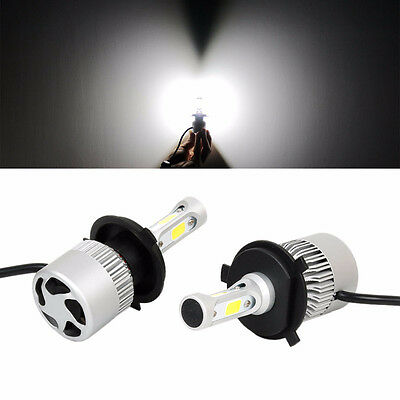 2X 80W 8000LM H4 LED Scheinwerfer Car Headlights Kit Hi/Lo Beam 6500K Auto Licht