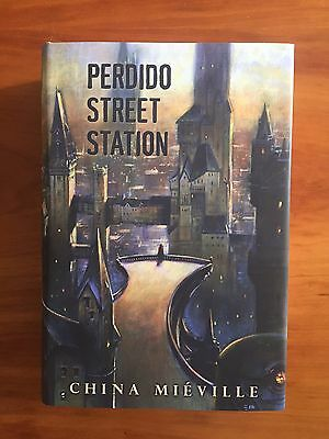 China Miéville, PERDIDO STREET STATION, Subterranean  - Limited: 350 SIGNED #218