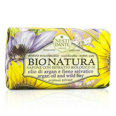 Nesti Dante Bio Natura Sustainable Vegetal Soap - Argan Oil & Wild Hay 250g Bath