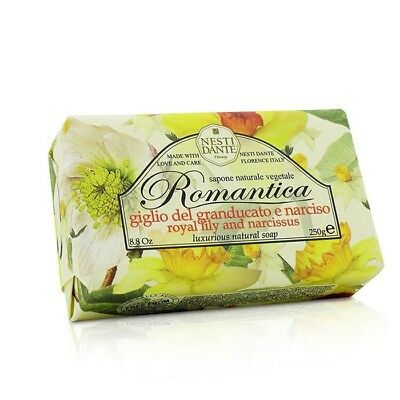 Nesti Dante Romantica Luxurious Natural Soap - Royal Lily & Narcissus 250g Bath