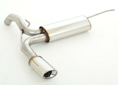 Nil Stainless Steel Exhaust Pipe Vauxhall Adam S / Rocks S from Yr 11/2014 1.4L