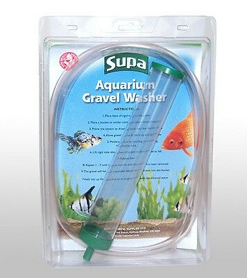 Supa Gravel Washer Aquarium Cleaning Water Siphon Tube (S288)