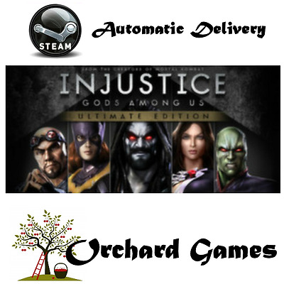 Injustice Gods Among Us Ultimate Edition : PC : Steam Digital : Auto Delivery