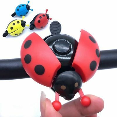Cycling Bicycle Bike Cute Lovely Kid Bell Horn Alarm Ring Beetle Ladybug Ring