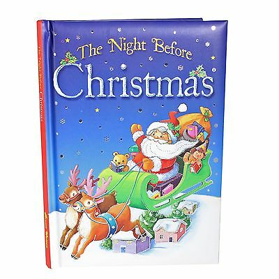 The Night Before Christmas - Padded Hardback Children's Colourful Story Book