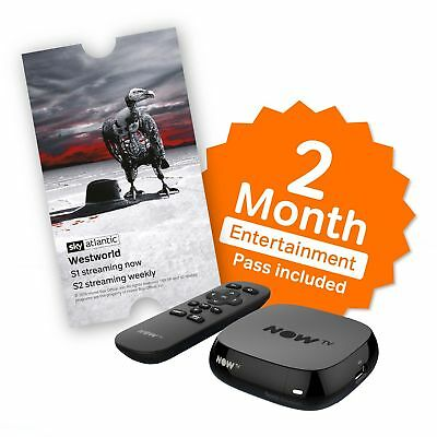 NOW TV BOX + 2 Month Entertainment Pass + Sky Store Voucher worth upto 5.49