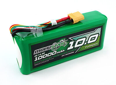 RC Multistar High Capacity 4S 10000mAh Multi-Rotor Lipo Pack