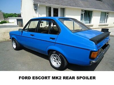 Ford Escort Mk2 Rear Spoiler
