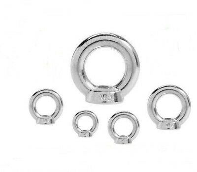 Ring nut DIN 582 Stainless steel V2A - Ring nuts M6 M8 M10 M12 M16 M20