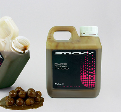 Sticky Baits NEW Carp Fishing Pure Liquid Tuna Liquid Attractant 1ltr