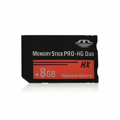 8GB Memory Stick MS Pro Duo Memory Card High Speed For Sony PSP 1000 2000 3000