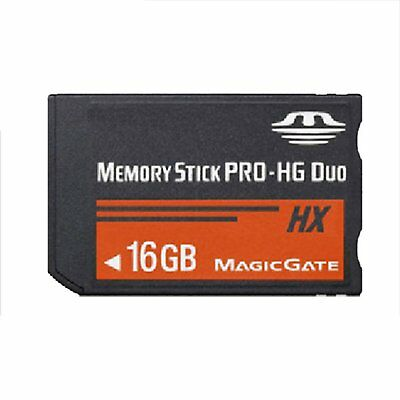 16GB Memory Stick MS Pro Duo Flash Memory Card For Sony PSP 1000 2000 3000
