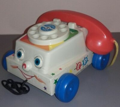 TELEPHONE FISHER PRICE mattel 2009 ( comme dans TOY STORY) toys