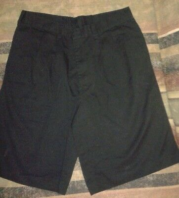 K-12 School/work/casual Shorts *size 20 Husky* Back To School Boys/men Black