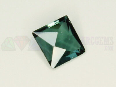 Indicolite Tourmaline VS 0.41ct Loose Natural Gemstone 5x5mm Afghanistan Princes