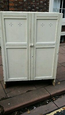 Antique French Pine Linen Press Cupboard circa 1900