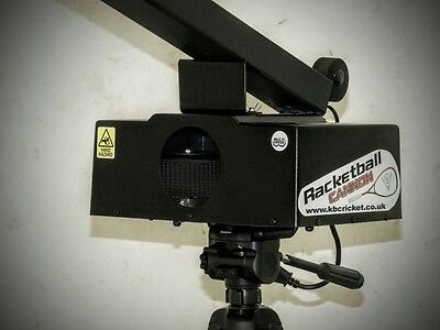 Ex-Demo RacketBall Racquetball Cannon Machine #Video Link Attached#