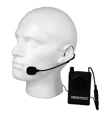 Voice Amplification Mic and Speaker Unit - for a Stormtrooper Costume - from USA