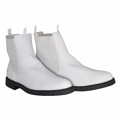 White TK Ankle Boots with Elastic Sides - for a Stormtrooper Costume - from USA