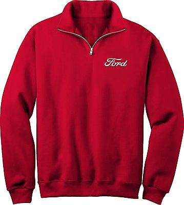 Ford Embroidered  1/4 zip Fleece