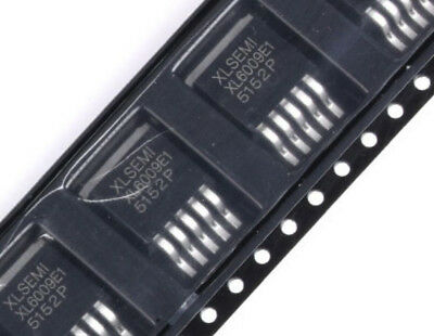 10PCS XL6009E1 DC-DC Adjustable Step-up Boost IC TO-263 42V//4A//400KHz NEW R10
