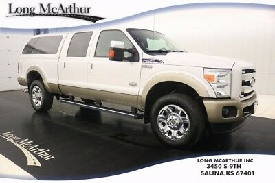 "2012 Ford F-350 KING RANCH 4WD  6 SPEED AUTOMATIC CREW CAB MSRP $6 UNIQUE KING RANCH LEATHER SEATS REMOTE START 20"" CHROME WHEELS"