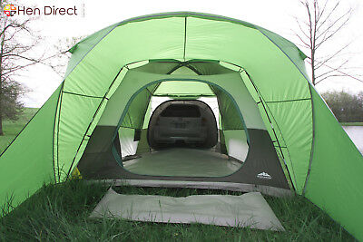 5 Person Roadtrip SUV Tent with Vehicle Connection Sleeve + Durable Storage Bag