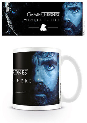 Game Of Thrones Winter Is Here Tyrion Lannister Mug New Gift Boxed 100%official