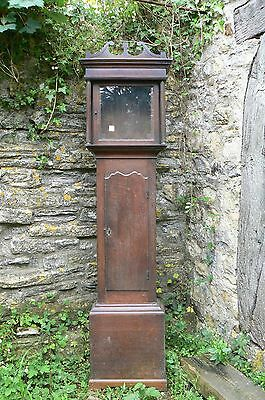 Oak  Longcase Grandfather Clock case only for 12 inch dial