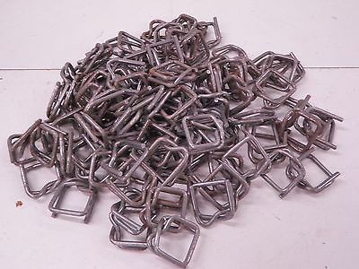 60 Uline Metal Buckles for Poly Strapping S-108