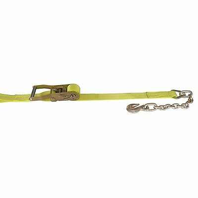 2 Pack Vulcan PROSeries Ratchet Strap 2 in x 27 ft with Chain Anchors