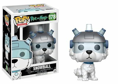 Snowball Rick and Morty TV Show POP! Animation #178 Vinyl Figur Funko