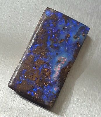WaterfallGems BIG Lightning Ridge Boulder Opal, 45x24mm, 89.82ct