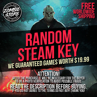 Random Steam Key / PC Game / Guaranteed +$19.99 Game - Fast Delivery!