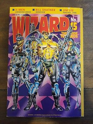 Wizard No. 15 November 1992  The Guide To Comics