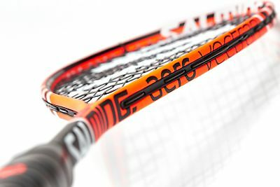 Salming Cannone Pro Aero Vectran Squash Racquet - Orange/Black