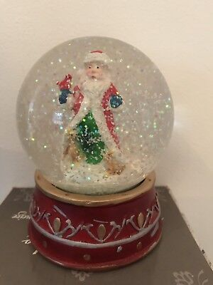 Large Christmas Santa Snow globe
