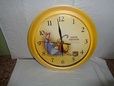 Non-working - Disney - Winnie the Pooh & Piglet - Hanging - Wall Clock